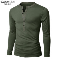 New 2016 Mens Long-sleeved Polos Access Mixed Colors Fashion Casual Slim Fit tees Free Shipping 6 colors size:M-XXL y11