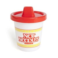 Gamago Ramen Noodles Sippy Cup White/Red One Size For Women 26485317301