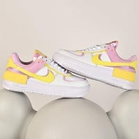Nike WMNS Air Force 1 Macaron lightweight high-low-top versatile sneakers