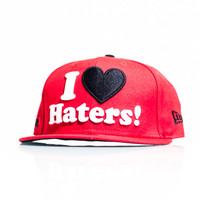 DGK I Love Haters Fitted Cap - Red/Black