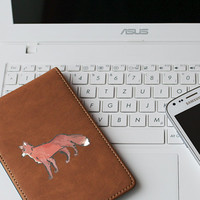 """Fox Die Cut Sticker // Nature, Animal, Woods Theme // Journal & Tablet Small Size // 3"""" // Perfect For Indoor, Outdoor, Laptop, Car"""
