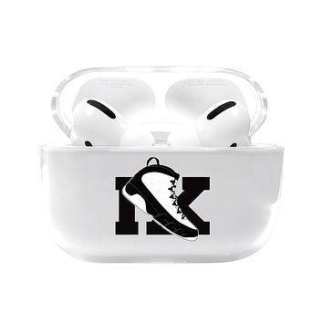 Large Jordan 9 Retro Shoe Emoji Airpods Pro Case