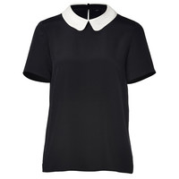 Marc by Marc Jacobs - Silk Alex Top in Black Multi