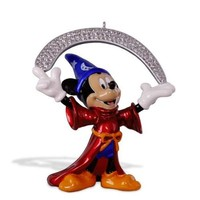 Disney Fantasia The Sorcerer's Apprentice Metal Ornament