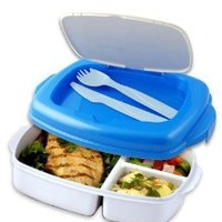 Stay-Fit Lunch 2 Go Container, EZ Freeze: Amazon.com: Kitchen & Dining