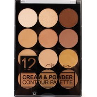 Cream & Powder Contour Palette