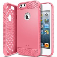 iPhone 6/6S Case, OBLIQ [Flex Pro][Pink] Thin Slim Fit Armor Sturdy Bumper TPU Rubber Soft Flexible Shock Scratch Resist Protective High Quality Case for iPhone 6s (2015) & iPhone 6 (2014)