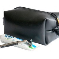 Travel Toiletry Bag from Alchemy Goods, Black