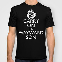 SUPERNATURAL CARRY ON MY WAYWARD SON T-shirt by thischarmingfan
