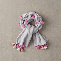 Nellystella Blake Scarf in Thin Stripe - N15F603