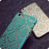 New Arrivals Fashion Vintage Flower Pattern Phone Case for iphone 5 5S 5C Cases Back Cover