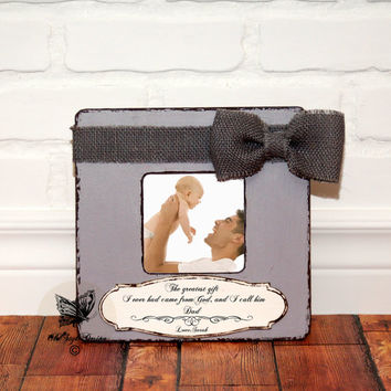 Fathers Day Gift from Daughter Gift for DAD First Fathers day Gift Personalized picture Frame Grandpa Gift from Kids Dad Gift Grandpa Frame