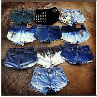 Highwaist Shorts - Each Short is sold separatly-