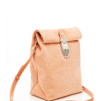 Athena Large Lunch Bag In Blush Pink by Opening Ceremony - Moda Operandi