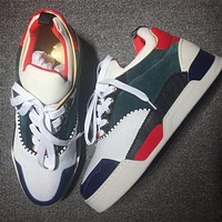 Christian Louboutin CL Style #2119 Sneakers Fashion Shoes Online