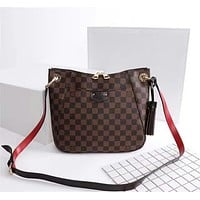 LV Louis Vuitton DAMIER CANVAS SOUTH BANK BESACE SHOULDER BAG