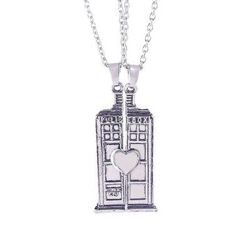 New Arrival Gift Jewelry Shiny Doctor Who Accessory Couple Fashion Stylish Strong Character Necklace [7831854215]
