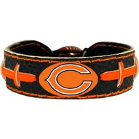 GameWear Chicago Bears NFL Team Color Football Bracelet