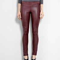 Raven Paloma Leather and Ponte Leggings by Paige Denim