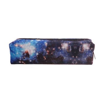 Galaxy Blue Travel Cosmetic Makeup Bag