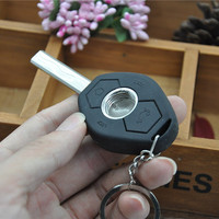 Free shipping Fashion Key shape Metal Pipe Smoking Pipe Magic Weed pipe HX1024 Gift Promotion