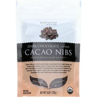Extreme Health USA Superfruits - Organic - Cacao Nibs - Dark Chocolate Covered - 6 oz - case of 6