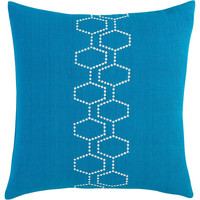 """cell peacock 18"""" pillow in all rugs/pillows   CB2"""