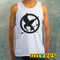 Mockingjay Symbol Clothing Tank Top For Mens