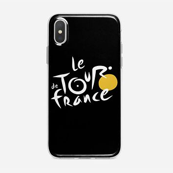 Le Tour De France Bicycle Bike Cycling iPhone XS Max Case