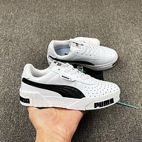 PUMA new low-cut open laugh canvas shoes fashion men and women sports sneakers