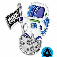 Michael Willett - MINE Astronaut Planet Pin (Limited Edition)