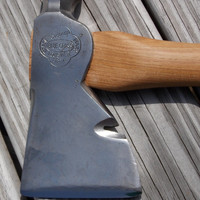Belknap Bluegrass hatchet with new 15 inch handle of American Hickory 1lb 14 oz