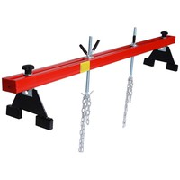 Engine Load Leveler 1100lbs Capacity Support Bar Transmission w/ Dual Hook