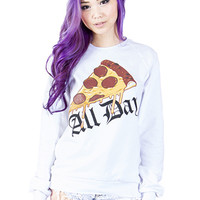 Pizza All Day Sweater
