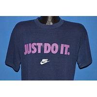 80s Nike Just Do It Swoosh Distressed t-shirt Large