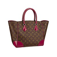 Tagre™ Authentic Louis Vuitton Monogram Canvas Phenix MM Bag Handbag Article: M41541 Made in Italy