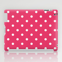 Polka Party Red iPad Case by Shawn Terry King
