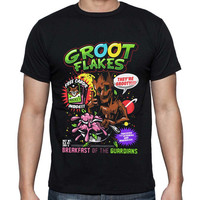 Groot Flakes Guardians of the Galaxy T-shirt