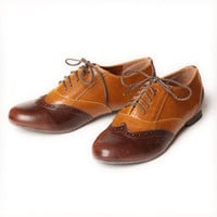 Rae jazz oxford shoes in tan - $32.99 : ShopRuche.com, Vintage Inspired Clothing, Affordable Clothes, Eco friendly Fashion
