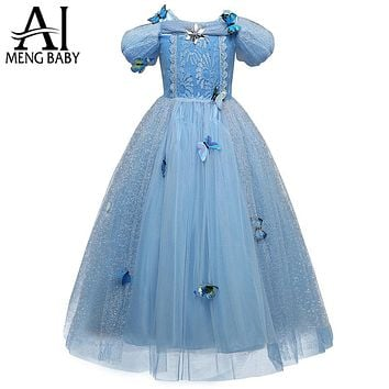 Girl Disguise Cosplay Costumes For Girls Kids Masquerade Ball Party Fancy Dress Children Clothing
