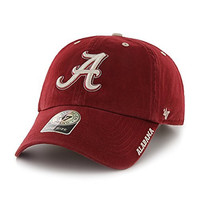 NCAA Alabama Crimson Tide Ice Clean Up Adjustable Hat, One Size, Razor Red