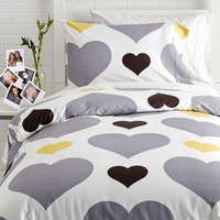 Love Me or Leave Me Duvet Cover/Sham Set