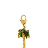 Kate Spade Palm Tree Charm Green ONE