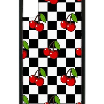 Cherry Checkers iPhone X/Xs Case