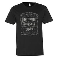 Government Cure-All Elixier Label Men's Short Sleeve T-Shirt