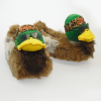duck dynasty willie duck slippers - large Case of 6