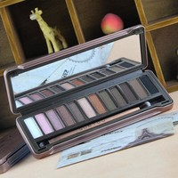 12 Colors Diamond High Quality Pigment Makeup Eyeshadow Pallete to Eye Kit Eye Shadow Beauty Naked Pallete