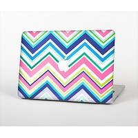 """The Vibrant Colored Chevron Pattern V3 Skin Set for the Apple MacBook Air 13"""""""