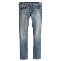 Selvedge toothpick jean in cherish wash