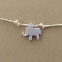 Lucky Summer Elephant  Bracelet